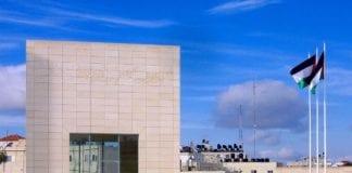 Mausuleet til minne om Yasser Arafat, i Ramallah. (Foto: Wikipedia)