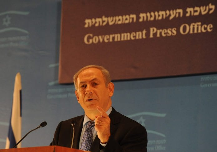 Statsminister Benjamin Netanyahu (Foto: Moshe Milner, GPO)