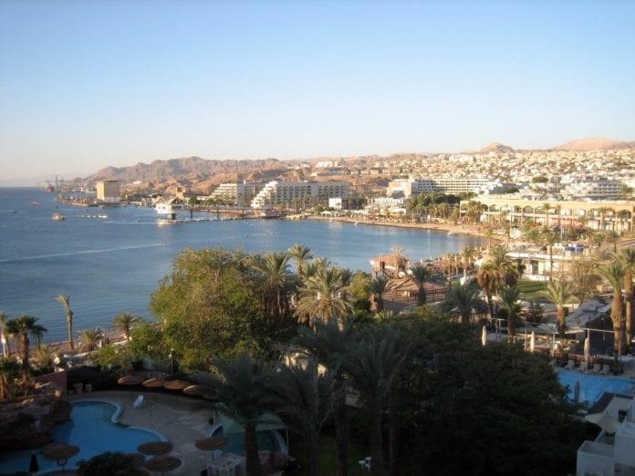 Oversiktsbilde over Eilat. (Illustrasjon: flickr.com)