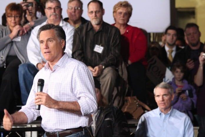 Presidentkandidat Mitt Romney er misfornøyd med Washingtons Midtøsten-politikk. (Foto: News Hour)