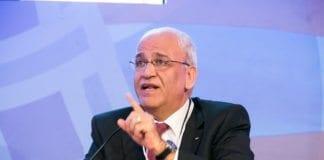 PAs sjefsforhandler Saeb Erekat. (Foto: U.S.-Islamic World Forum)