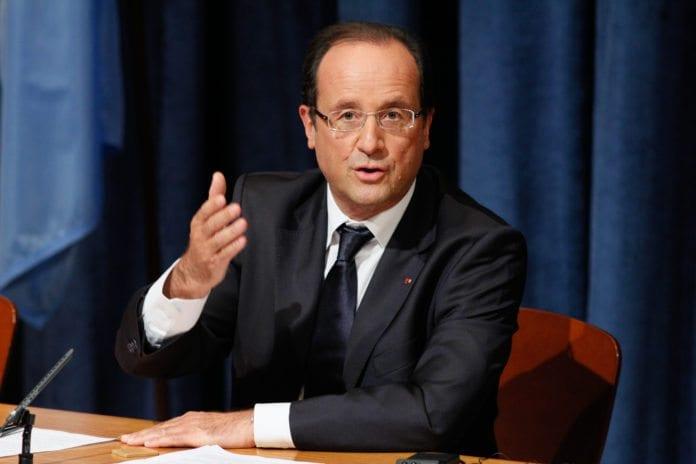 President Francois Hollande forsikrer det fransk-jødiske samfunnet om at de franske myndighetene ikke vil tålerere antisemittisk vold. (Foto: flickr.com)