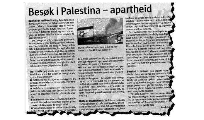 Faksmile av leserinnlegg i Avisa Nordland 20. oktober 2012.