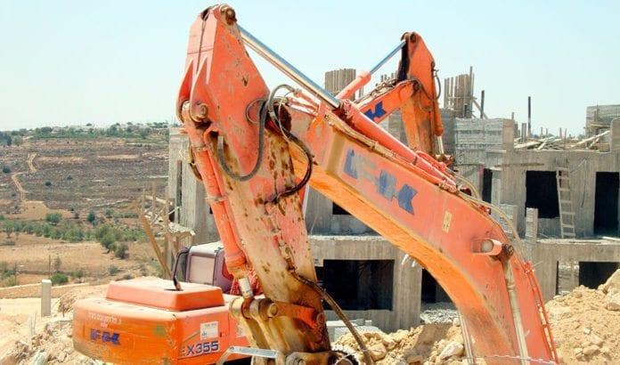 Dette bildet skal være tatt i Gush Etzion, en israelsk bosetningsblokk sør for Betlehem i august 2010. Boligveksten i palestinske områder er 20 ganger større enn i israelske bosetninger. (Illustrasjonsfoto: Cyrl, flickr.com)