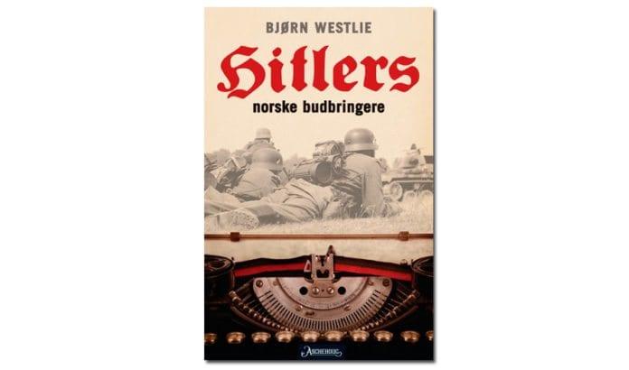 Hitlers norske budbringere er skrevet av Bjørn Westlie, førstelektor ved journalistutdanningen ved Høgskolen i Oslo og Akershus (HIOA). Westlie har i mange år vært journalist i Dagens Næringsliv.