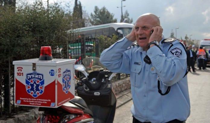 I tillegg til krigsberedskap må det israelske sivilforsvaret være forberedt på hva de skal gjøre dersom landet blir rammet av et kraftig jordskjelv. (Illustrasjonsfoto: GPO)