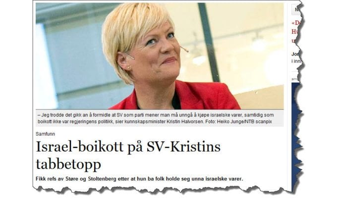 Skjermdump fra vl.no torsdag 25. oktober 2012.