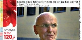 Trond Ali Linstad (Illustrasjon: Skjermdump fra VG.no)