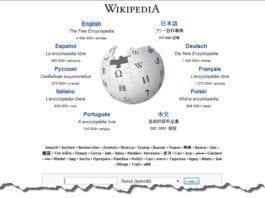 Skjermdump fra wikipedia.org.