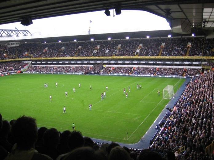 Tottenhams hjemmebane White Hart Lane. (Foto: Oliver Mallich)