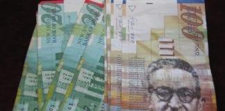 Israelske shekel-sedler (Foto: Michael Plump, flickr.com)