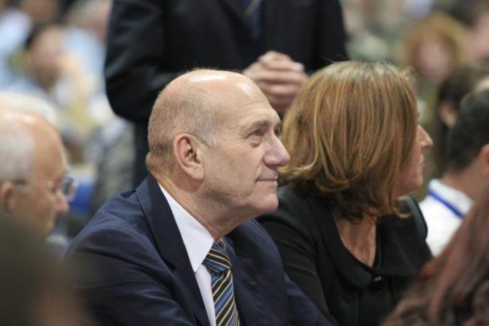 Ehud Olmert og Tzipi Livni, fra den tiden de