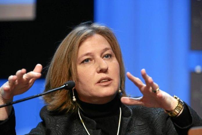 Leder for det ferske partiet Hatzut (Bevegelsen), Tzipi Livni. (Foto: WEF)