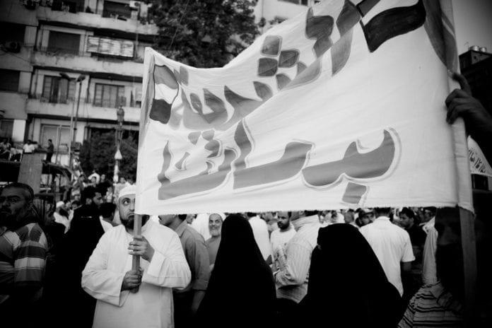 Islamister på Tahrir-plassen 29. juli 2011. (Illustrasjonsfoto: Hossam el-Hamalawy, flickr)