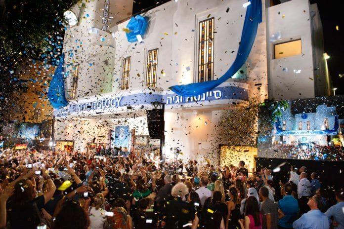 Scientologi-kirkens hovedkvarter i Tel Aviv. (Foto: Scientology Media)