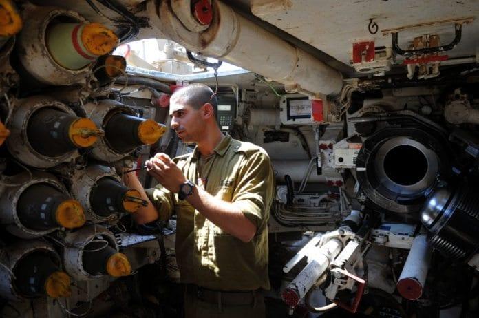 Militærøvelse (Illustrasjon: IDF)