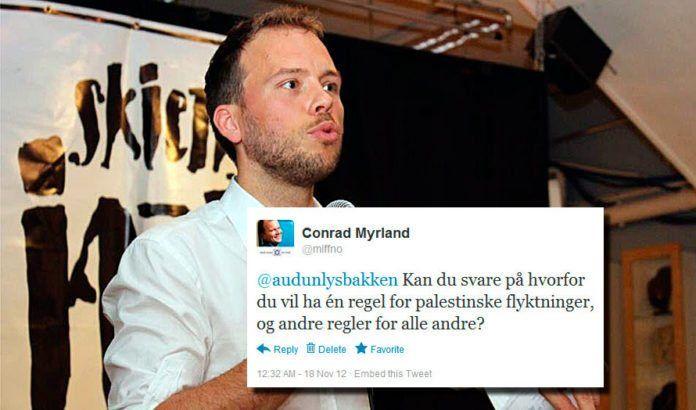 Audun Lysbakken har fortsatt til gode å svare på det siste spørsmålet han har fått fra MIFF på Twitter. (Foto: Audun Lysbakkens Facebook-side)