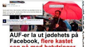Skjermdump fra Dagbladet.no og to av kommentarene i Facebook-samtalen.