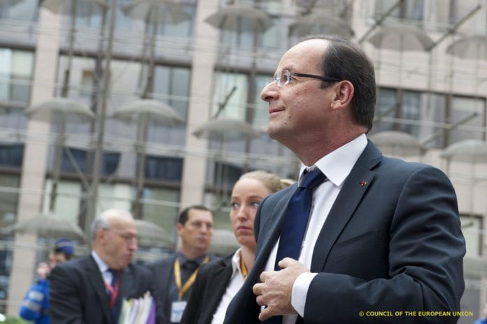 Frankrikes president François Hollande. (Foto: European Council, flickr)