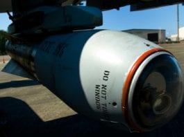 JDAM-bombe (Foto: Dan Bennett)