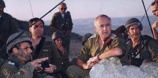 Amnon Lipkin-Shahak fra tiden som forsvarssjef. (Foto: IDF)