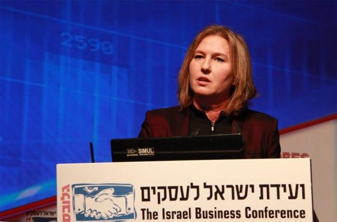 Tzipi Livni mener israelske bosetninger er nødvendige for fred med palestinerne. (Foto: Tzipi Livnis flickr-konto)