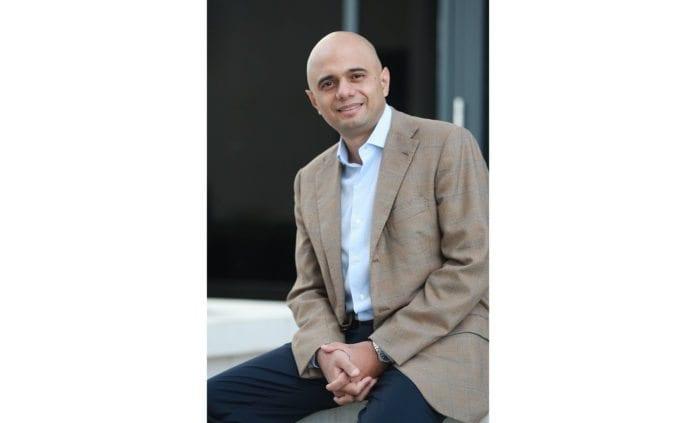 Det britiske parlamentsmedlemmet Sajid Javid. (Foto: Det konservative partiet i Storbritannia)