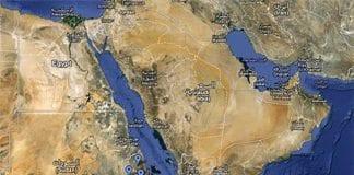 Øst-Afrika og Midtøsten (Foto: Google Maps)
