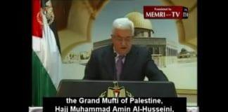 Mahmoud Abbas hyllet nazi-støttespilleren Hajj Muhammad Amin Al-Husseini i sin tv-sendte tale under Fatah-jubileet.
