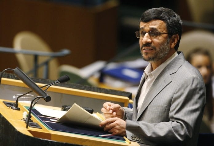 Irans president Mahmoud Ahmadinejad. (Foto: UN Photo)