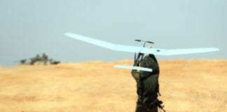 Slike israelske dronefly har vært avgjørende for den markante økningen i israelsk våpeneksport. (Foto: IDF)