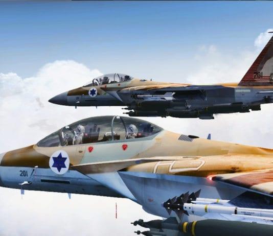 IAF-jagerfly av typen F-15 Strike Eagle. (Illustrasjon: Magic Aviation)