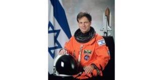 Israels første astronaut, Ilan Ramon. (Foto: Wikipedia)