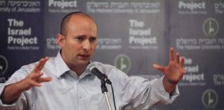 Partileder i Bayit Yehudi, Naftali Bennett (Foto: Mati Milstein, The Israel Project)