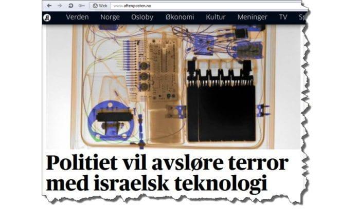 Skjermdump fra Aftenposten.no tirsdag 8. januar 2012.