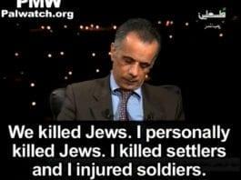 Foto: Skjermdump fra YouTube-videoen til Palestinian Media Watch)