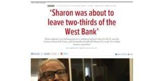 Rafi Eitan, tidligere rådgiver for Ariel Sharon. (Foto: Skjermdump fra timesofisrael.com)