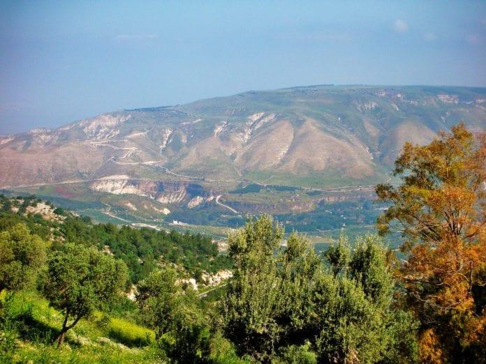Golan-høydene øst for Genesaretsjøen. (Foto: Z Heise, flickr.com)