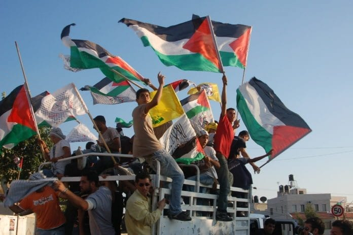 Palestinsk begravelsesfølge fra 2008 (Illustrasjon: PSP Photos, flickr.com)