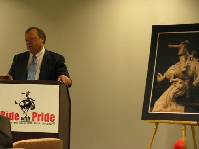 Formann og konsernsjef i Continental Resources, Harold Hamm. (Foto: Becky McCray, flickr.com)