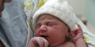 Nyfødt barn (Illustrasjon: Alec Couros, flickr.com)