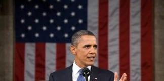 President Barack Obama under State of the Union-talen fra 2011. (Foto: Det hvite hus)