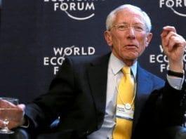 Sentralbanksjef Stanley Fischer (Foto: WEF)