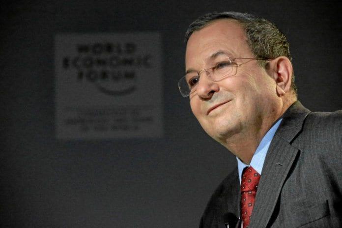Forsvarsminister Ehud Barak brøt militærsensuren i Israel. Det må han stilles til ansvar for, mener Ha'aretz. (Foto: WEF)