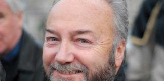 Respect Partys medlem av Underhuset, George Galloway. (Foto: Wikipedia)