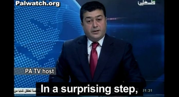Skjermdump fra PA TV 17. februar 2013.