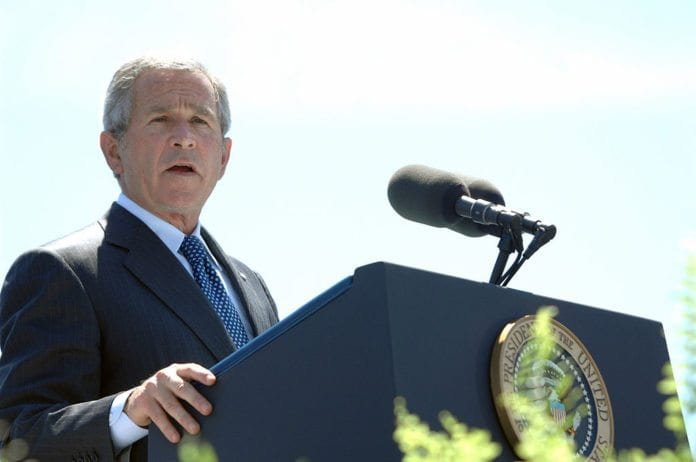 USAs tidligere president George W. Bush. (Foto: Wikipedia)