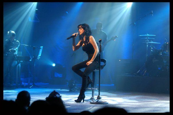 Rita Yahan-Farouz under en konsert i Israel. (Foto: Rita, Facebook.com)