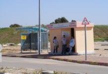 Selv bussholdeplassene i Sderot er bombesikre. (Illustrasjon: Paul Simpson, flickr.com)