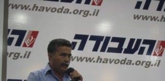 Amir Peretz, under partiledervalgkampen i Ap våren 2012. (Foto: Jonathan Klinger, flickr.com)